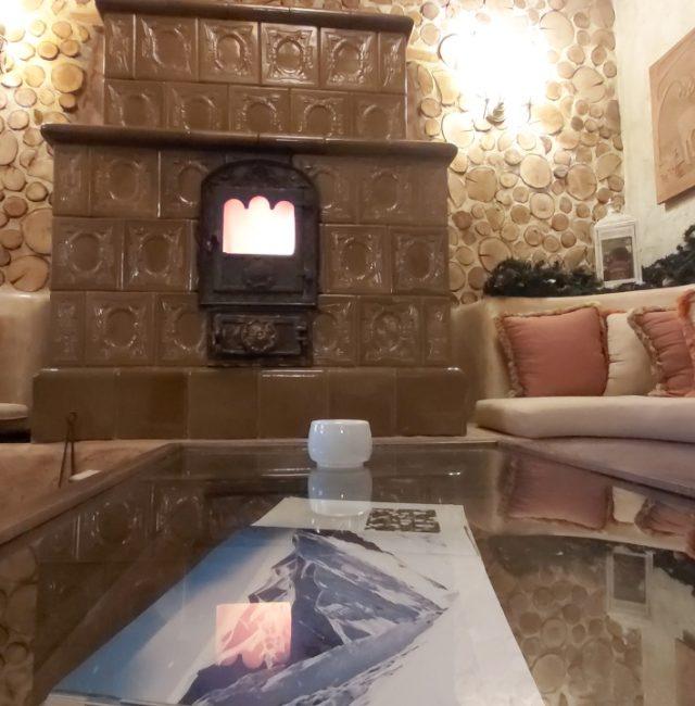 Fireplace Reception
